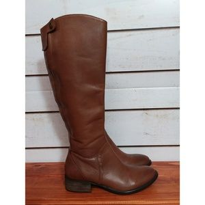 Donald J. Pliner Brown Peso Leather Boots 6.5